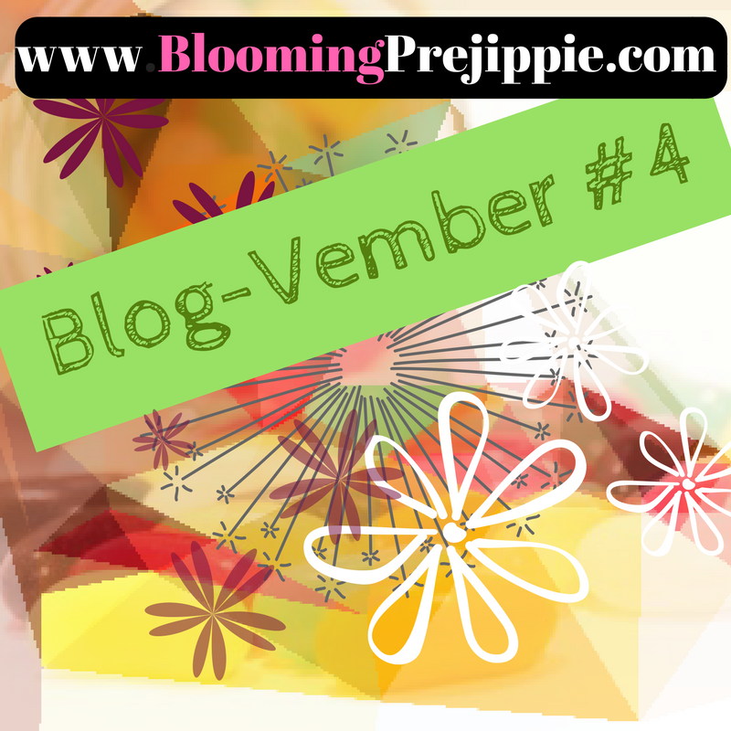Blog-vember Day 4  -- Blooming Prejippie Zine