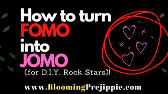 How to turn FOMO into JOMO (for the D.I. Y. Rock Star)