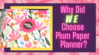 Why Did We Choose Plum Paper Planner?  (for D.I.Y. Rock Star Planning)