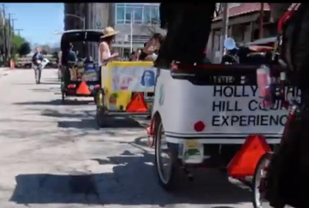 Rickshaw at SXSW  --Blooming Prejippie Zine