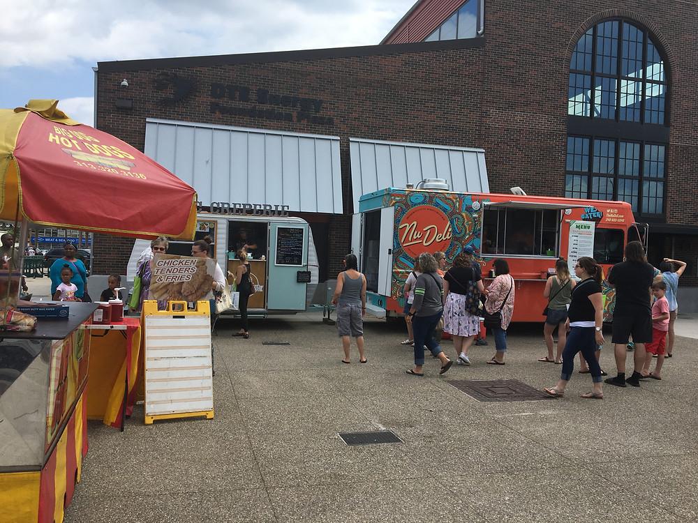 Food Trucks Eastern Market