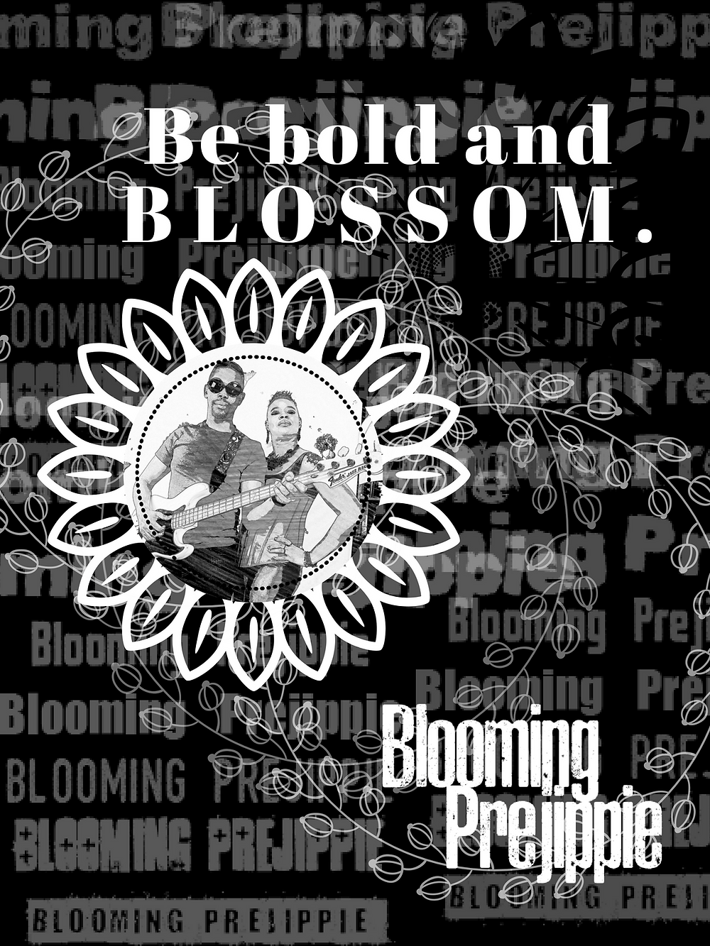 T-Shirt Graphic  --Blooming Prejippie