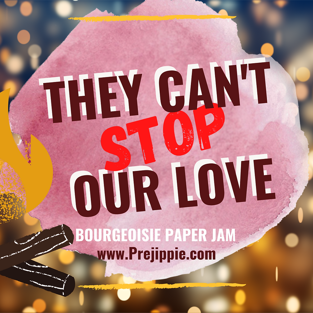 They Can't Stop Our Love --Blooming Prejippie Zine