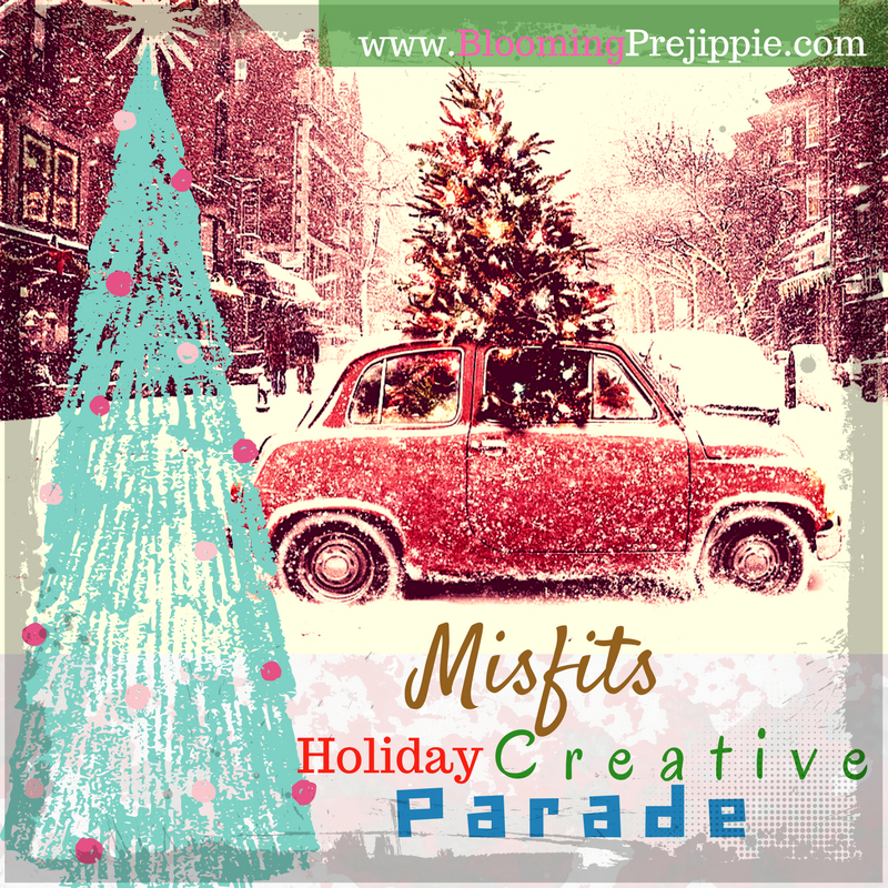 Misfits Holiday Creative Parade Call --Blooming Prejippie Zine