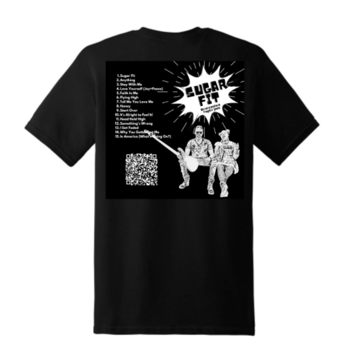 Sugar Fit T-shirt Back