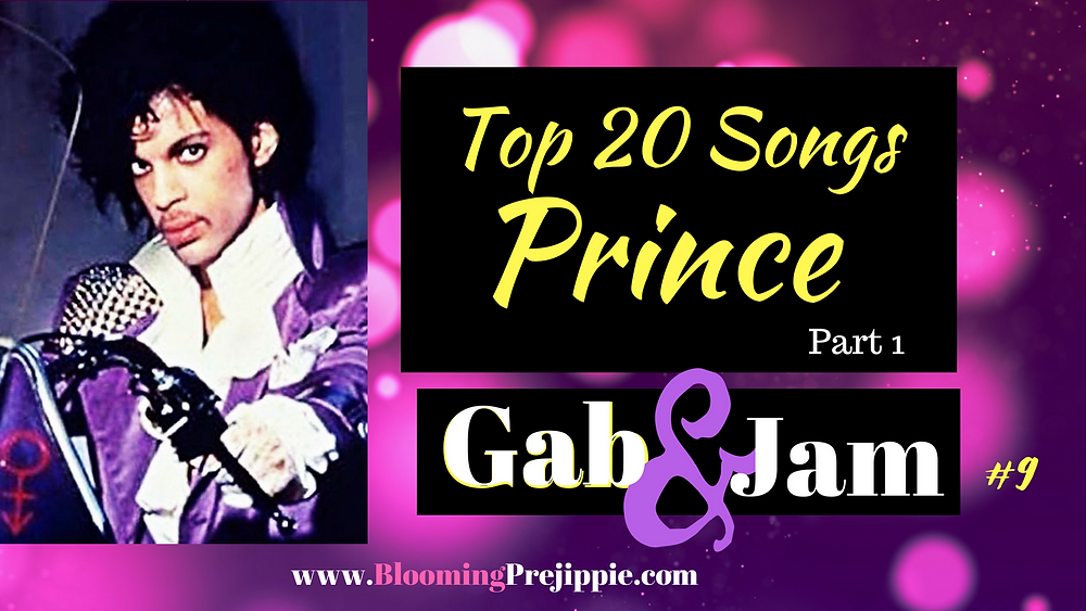 Prince Top 20 Songs Countdown --Blooming Prejippie Zine