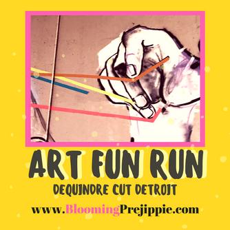 Art Fun Run:  Detroit's Dequindre Cut