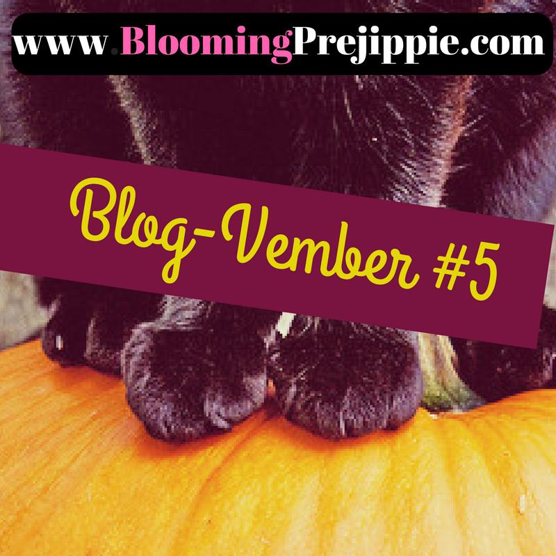 Blog-vember Day 5  -- Blooming Prejippie Zine
