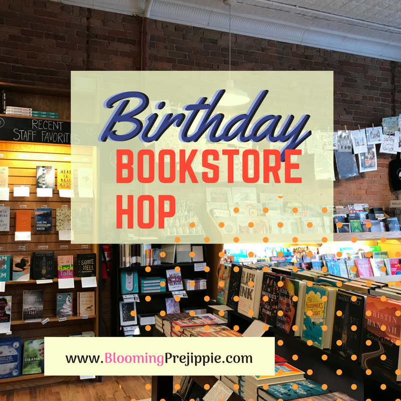 Birthday Bookstore Hop  --Blooming Prejippie Zine