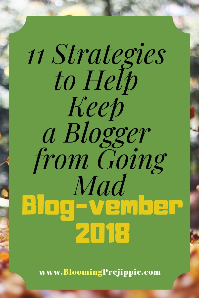 Blog-vember Day 2 2018 --Blooming Prejippie