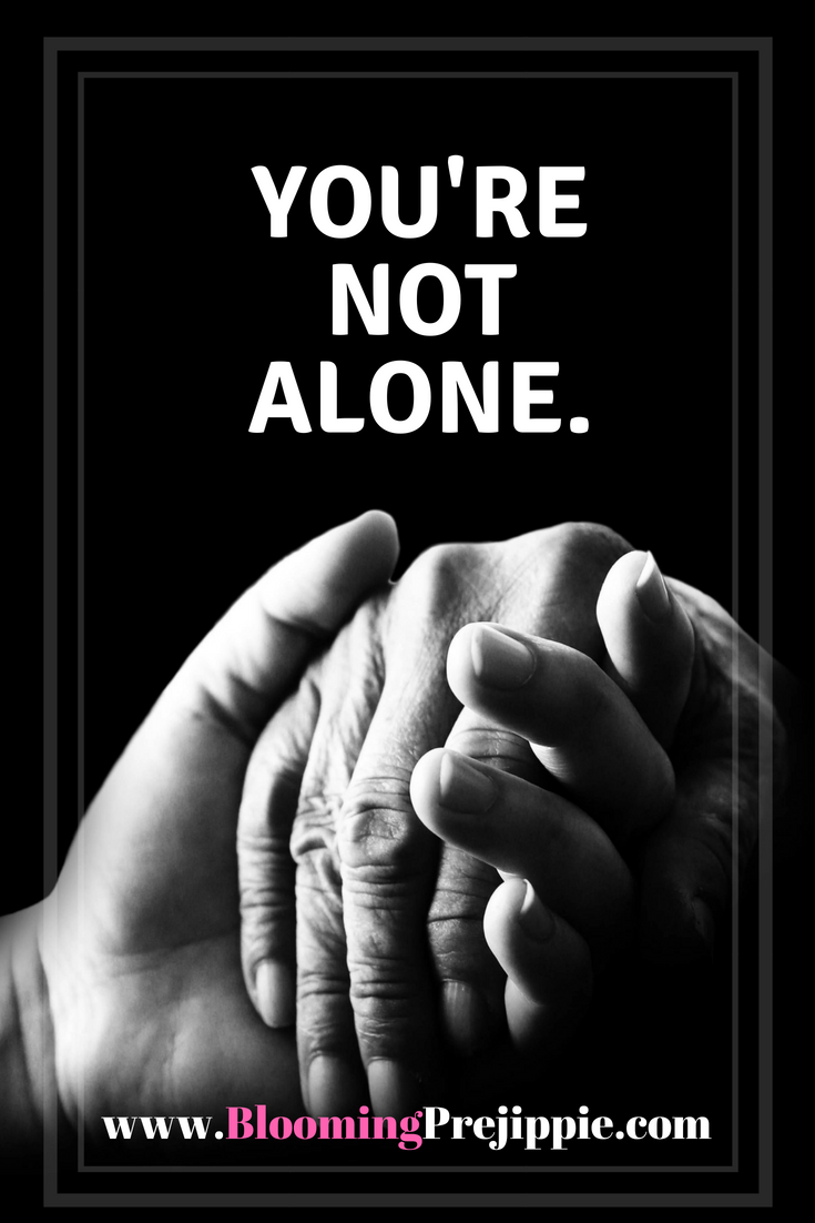 You're Not Alone  --Blooming Prejippie Zine
