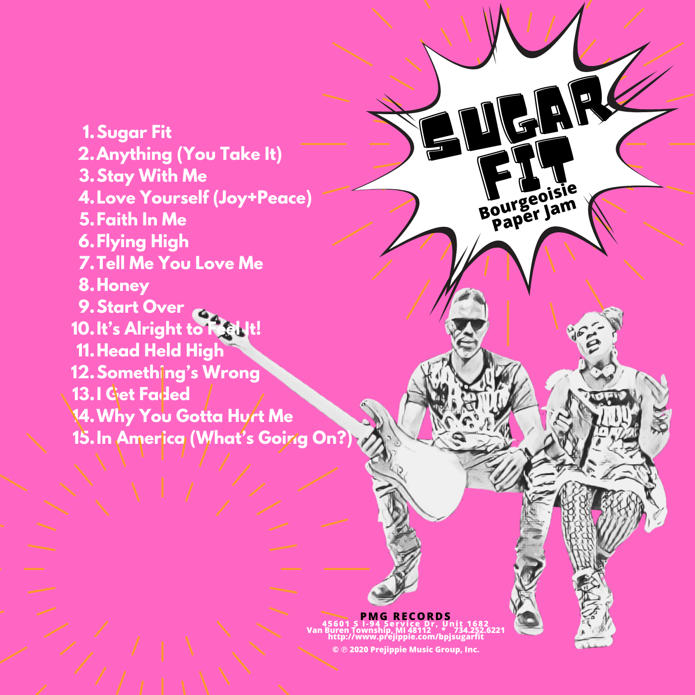 """Sugar Fit"" by Bourgeoisie Paper Jam"