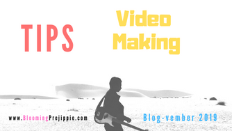 Tips for Video Making (for the D.I.Y. Rock Star)
