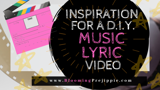 How to Make Your Own Music Lyric Video  --Blooming Prejippie
