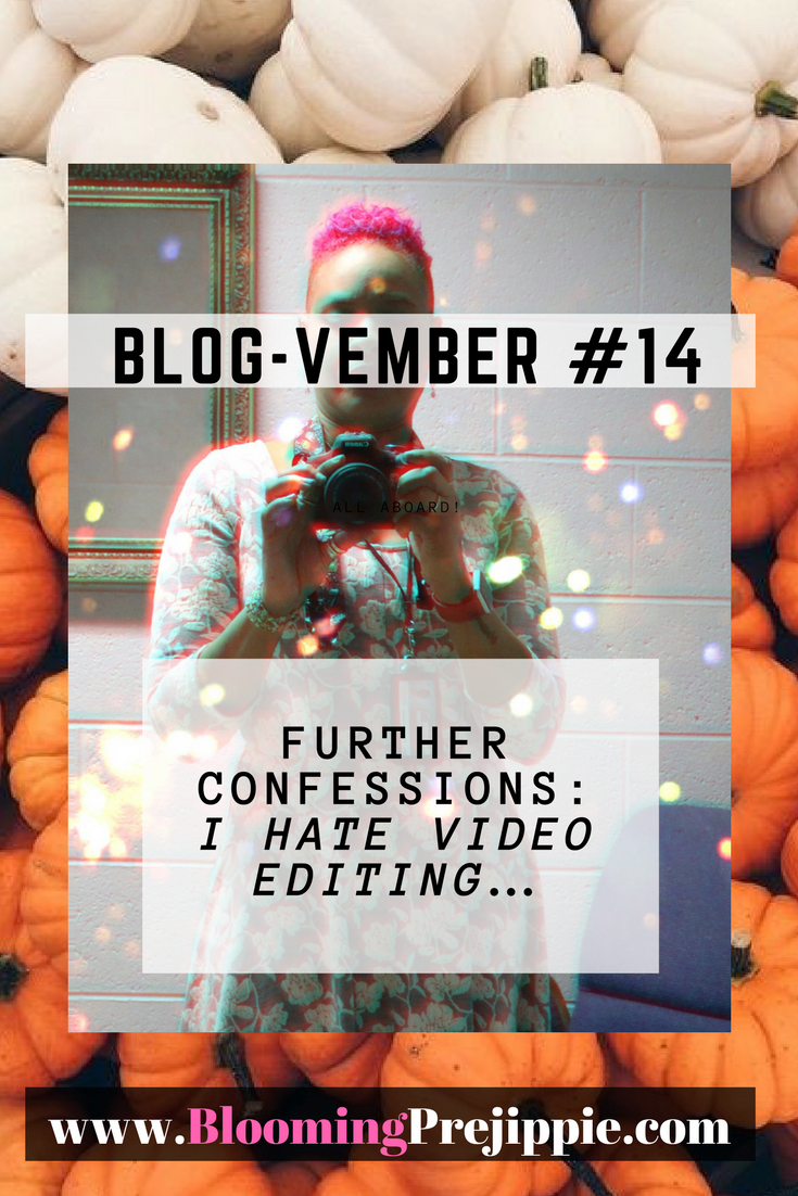 Blog-vember Day 14  --Blooming Prejippie Zine