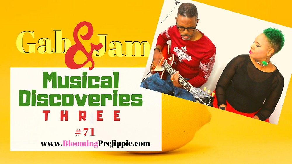 Musical Discoveries V3 --Blooming Prejippie Zine