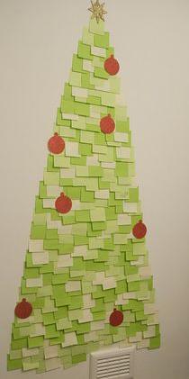 post it tree