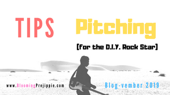 Tips for Pitching (for the D.I.Y. Rock Star)
