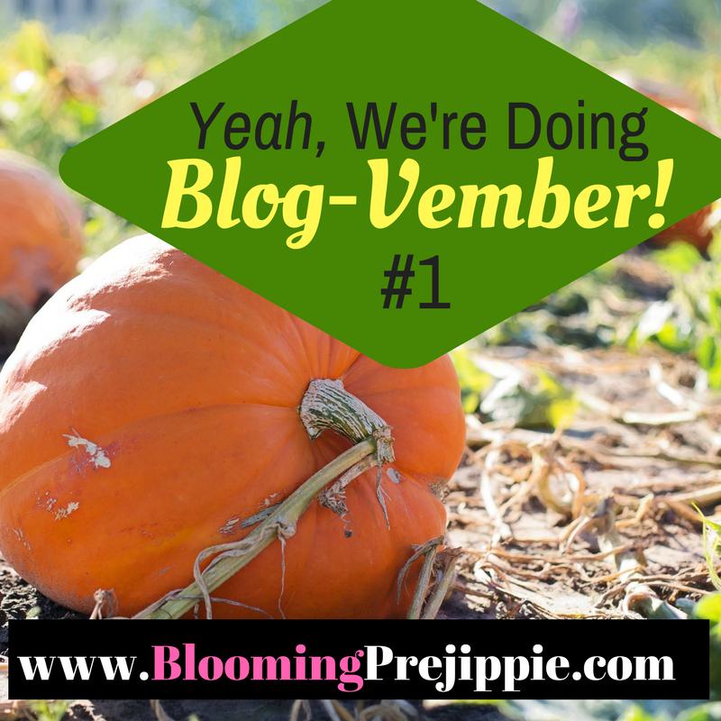 Blog-Vember --Blooming Prejippie Zine