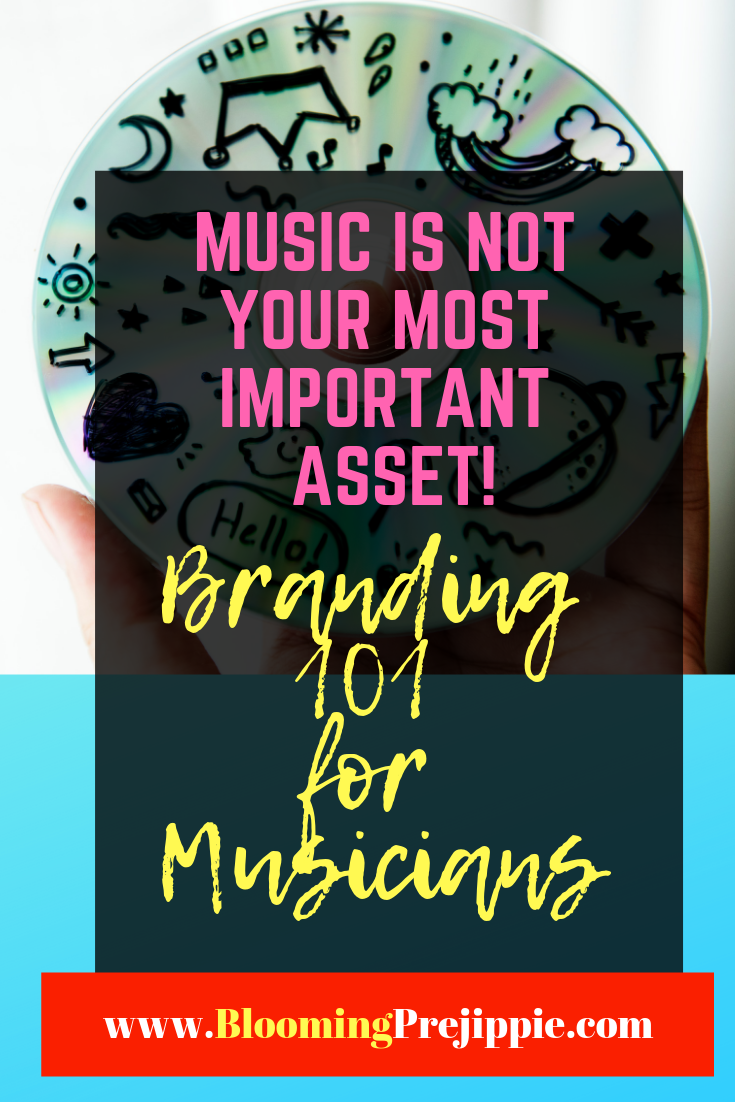 Branding for Musicians  --Blooming Prejippie Zine