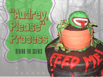 "Blog-vember #16 Behind the Scenes: The Process to ""Audrey, Please"""