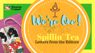 Spillin' Tea:  Happy First Blog-Versary to Us!
