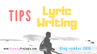 Tips for Lyric Writing (for the D.I.Y. Rock Star)
