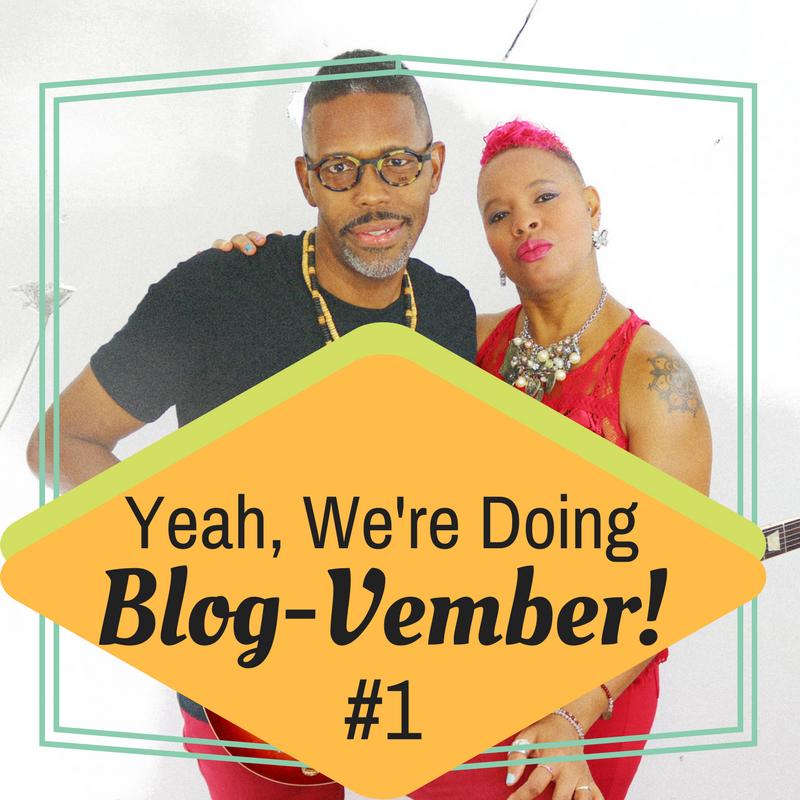 Blog-Vember #1  --Blooming Prejippie