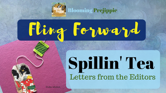 Spillin' Tea:  Fling Forward