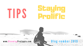 Tips for Staying Prolific (for the D.I.Y. Rock Star)