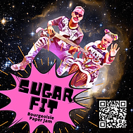 Sugar Fit Album Cover for Patreon T-Shir