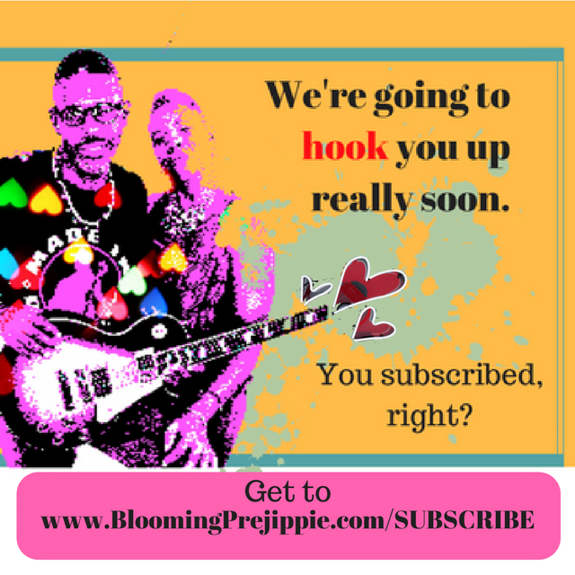 Subscribe  --Blooming Prejippie Zine