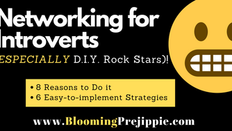 Networking for Introverts (ESPECIALLY D.I.Y. Rock Stars)! 😬
