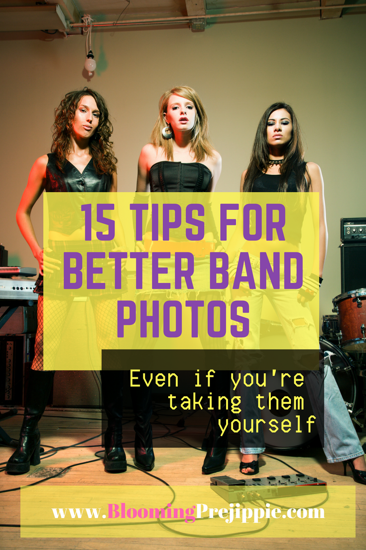 15 Tips for Better Band Photos  --Blooming Prejippie Zine