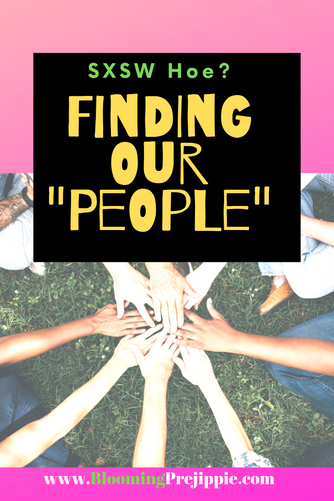 "Stop and breathe….: Finding Our ""People"""