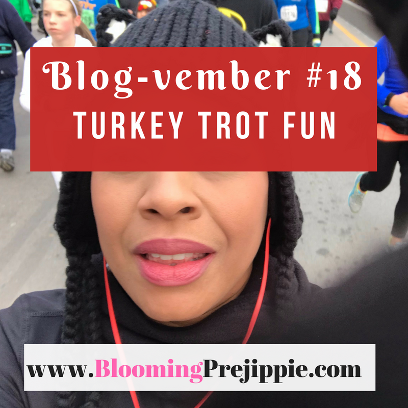 Turkey Trot Fun  --Blooming Prejippie Zine