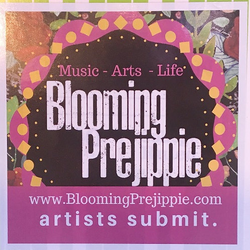 Blooming Prejippie Sticker