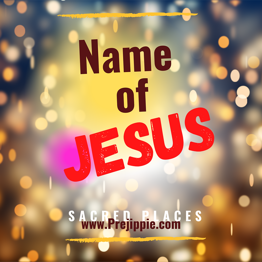 Name of Jesus --Blooming Prejippie Zine