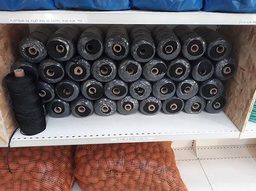 Fil polyéthylène tressé noir