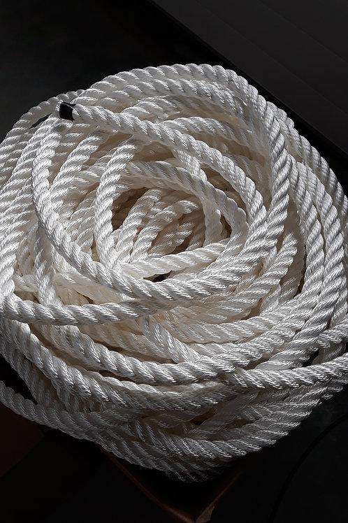 Cordage polyamide câblé 3 torons
