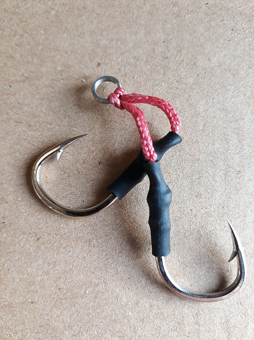 Assist hook double