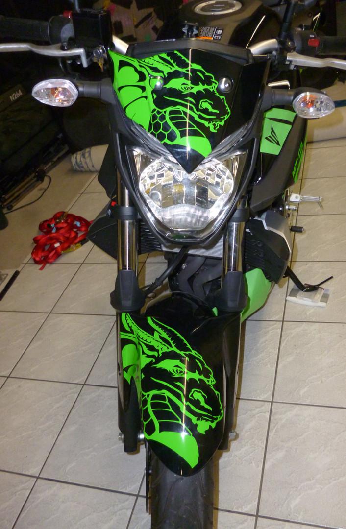 Motorrad-Design