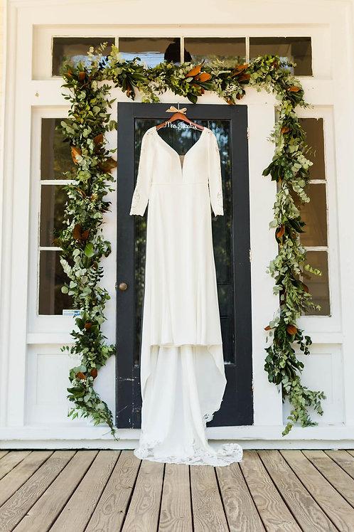 Fresh Greenery Wedding Garland