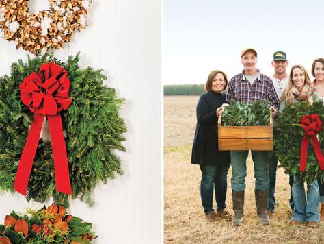 Sanderson Wreaths Create Homegrown Holiday Cheer
