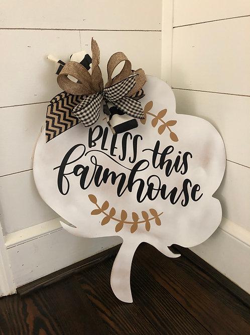Farmhouse Cotton Boll Hanger