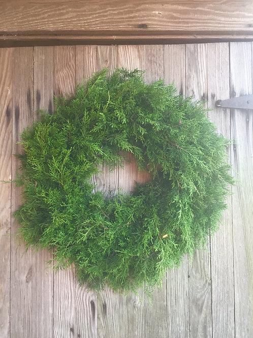 Fresh Cedar Wreath