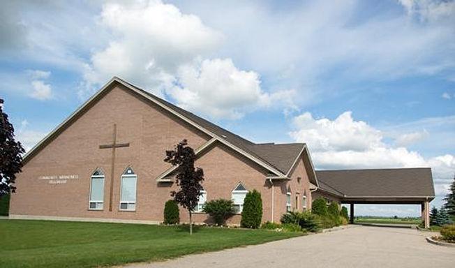 Community Mennoninite Fellowship chrurch building