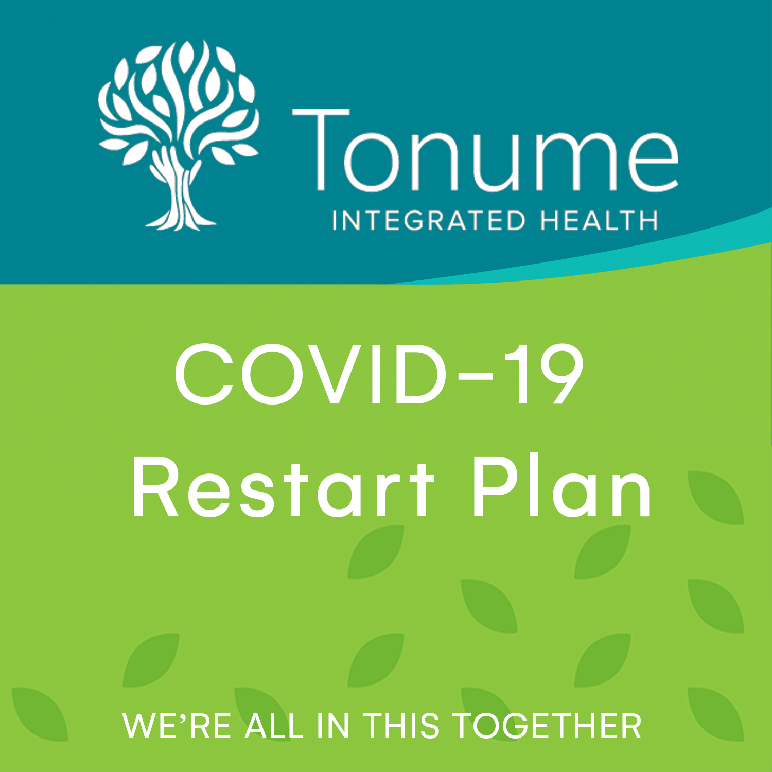 Tonume Restart Plan