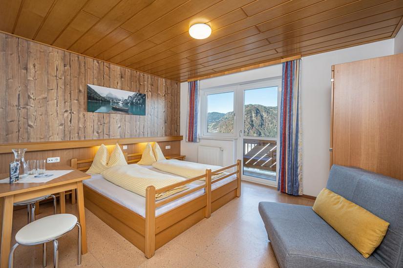 Doppelzimmer Panorama (ca. 20 m²)