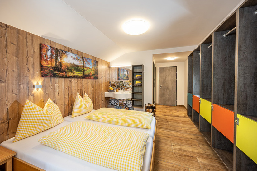 5 Bettzimmer Comfort (ca. 36 m²)